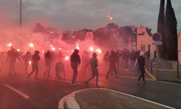 Μαρσέιγ: Στον εισαγγελέα 18 οπαδοί για τη φωτιά στο προπονητικό κέντρο (video+photos)