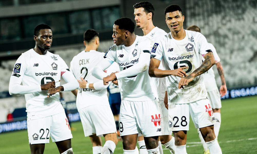 Ligue 1: Αέρας η Λιλ, πέρασε από το Μπορντό και βρίσκεται στο ρετιρέ! (video)