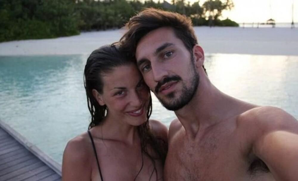 Φραντσέσκα Φιορέτι: Η χήρα του αδικοχαμένου Αστόρι στο πλευρό γνωστού ποδοσφαιριστή
