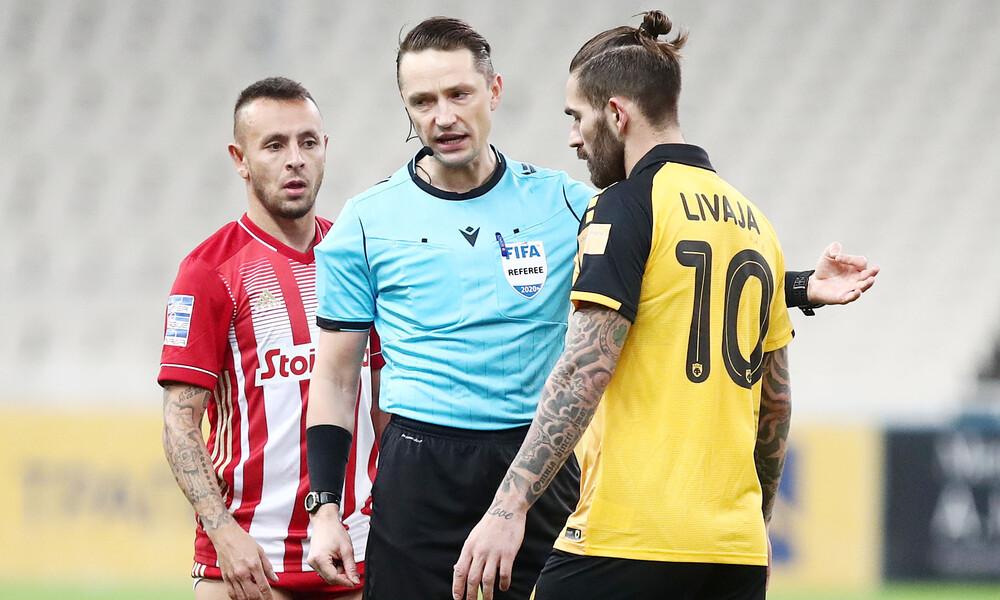 Super League: Λετονός στο ΑΕΚ-Άρης, διεθνής ρέφερι στο Ατρόμητος-Παναθηναϊκός (photos)