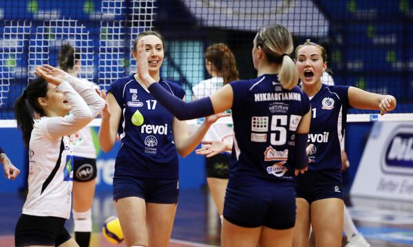 Volleyleague Γυναικών: Έκανε την έκπληξη το Μαρκόπουλο