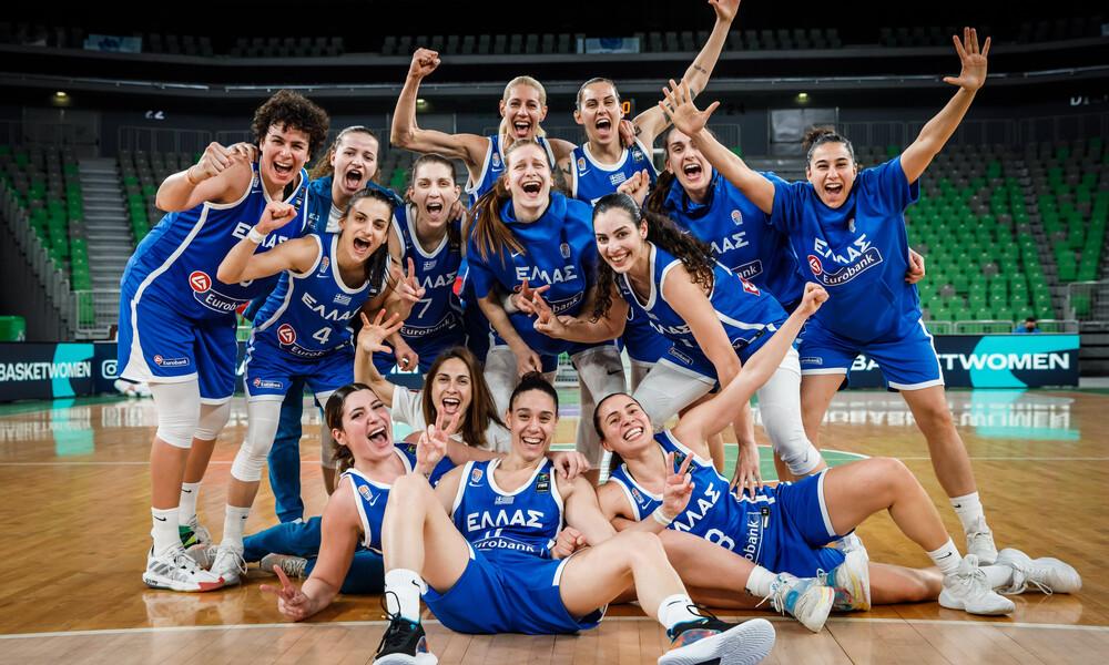 Eurobasket Γυναικών 2021: Με μεγάλη νίκη στην τελική φάση η Εθνική