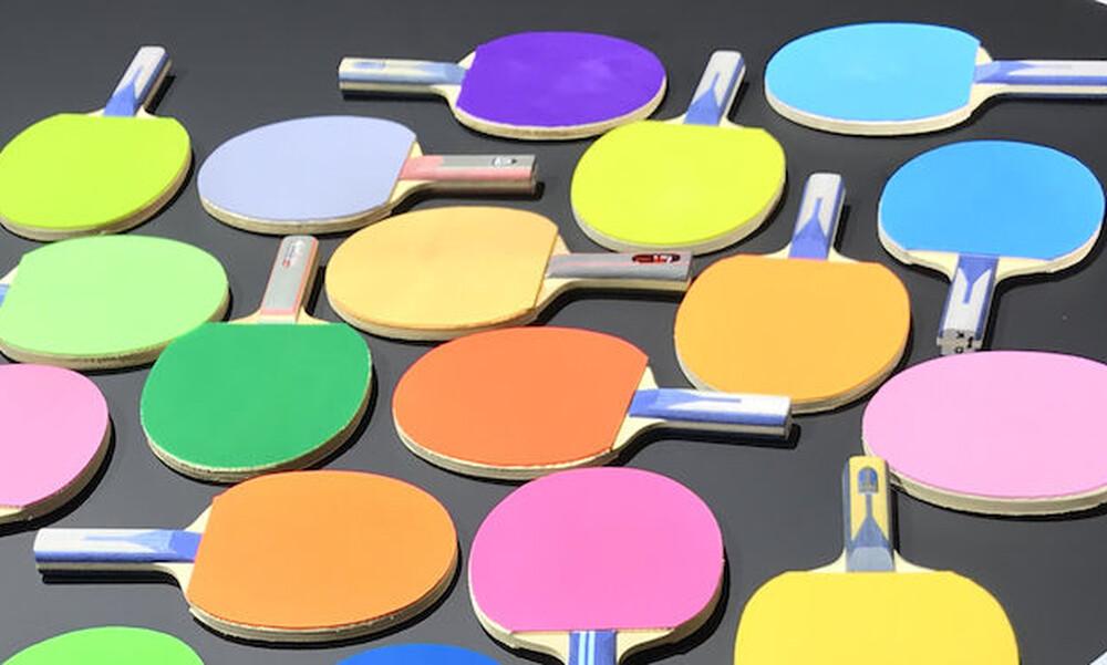 Πώς αποφασίστηκαν τα νέα χρώματα για τα λάστιχα στις ρακέτες επιτραπέζιας αντισφαίρισης
