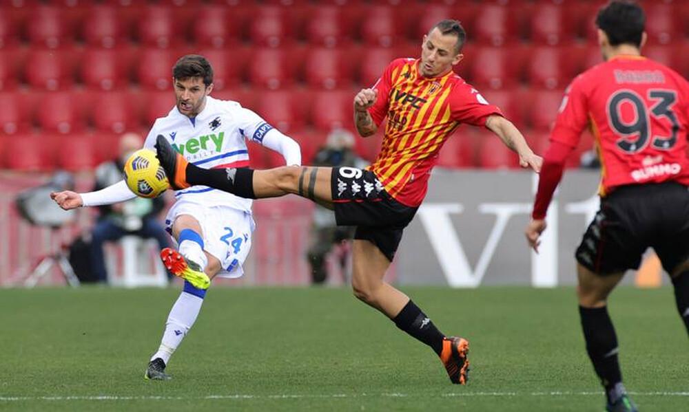 Serie A: Ισοπαλία προβληματισμού για Μπενεβέντο-Σαμπντόρια! (Photos)