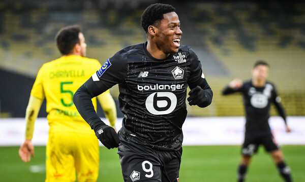 Ligue 1: Καθάρισε τη Ναντ η Λιλ κι ανέβηκε στην κορυφή! (photos)