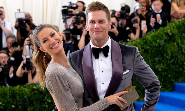 Το φιλί του Τομ Μπρέιντι με τη Ζιζέλ μετά το τέλος του Super Bowl (video+photos)