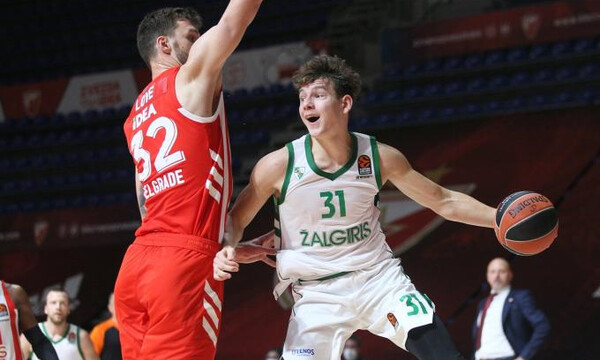 Euroleague: To Ζαλγκίρις - Ερυθρός Αστέρας ορίστηκε 23/2