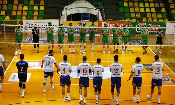 Volley League: Μασκοφόροι οι παίκτες του Παναθηναϊκού! (Video)
