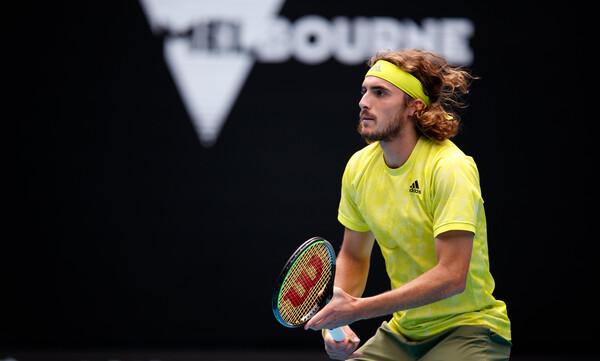 Australian Open: Δυσκολεύτηκε ο Τσιτσιπάς, αλλά νίκησε τον Κοκκινάκη (photos)