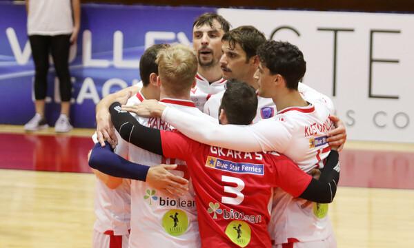 Volley League: Συνεχίζει αήττητος ο Φοίνικας Σύρου, νίκησε και τον Μίλωνα