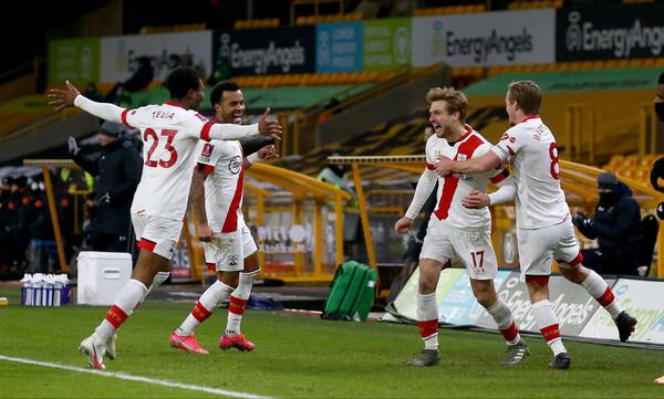 FA Cup: Οι «Άγιοι» υπέταξαν τους «Λύκους»! (Video)