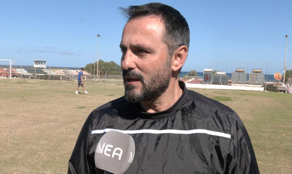 Καβακάς: «Ιδιαίτερο ματς με τα Χανιά» (video)