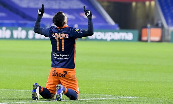Ligue 1: Η Μονπελιέ φρέναρε τη Λυόν και κράτησε την Παρί στην κορυφή! (video)