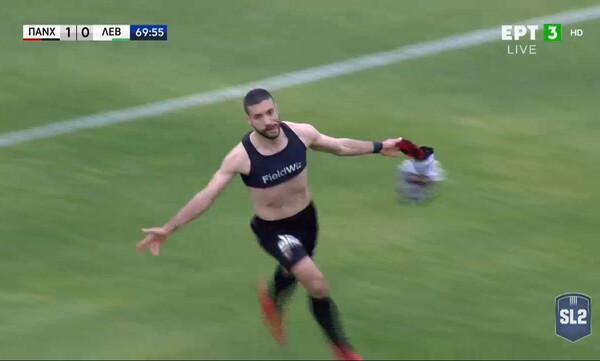 Παναχαϊκή-Λεβαδειακός: Νέο γκολ ο Αραβίδης (video)
