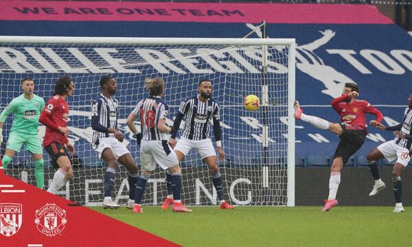 Premier League: Αμετανόητη η Μάντσεστερ Γιουνάιτεντ, πέταξε βαθμούς με τη Γουέστ Μπρομ! (video)