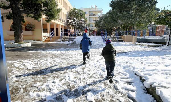Κακοκαιρία - Κλειστά σχολεία: Πού κλείνουν τη Δευτέρα σχολεία και σχολικές μονάδες Ειδικής Αγωγής