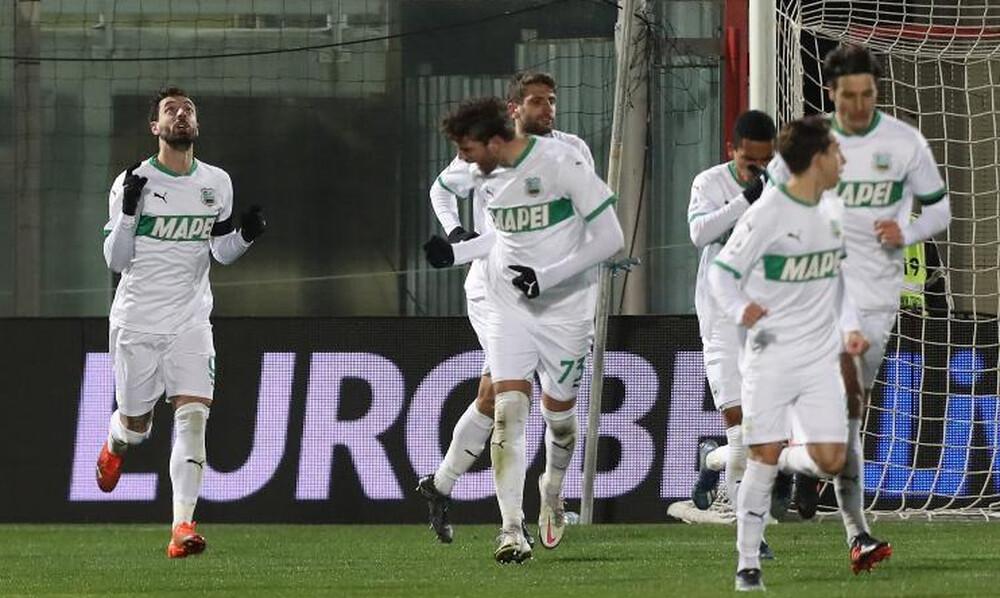Serie A: Η Σασουόλο «πέρασε» απ' την έδρα της Κροτόνε! (Photos)