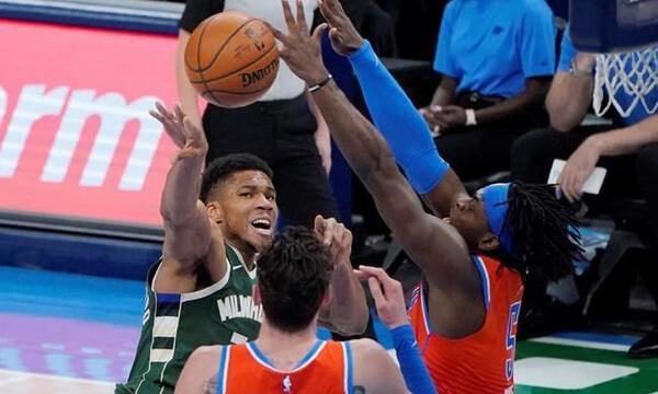 NBA: Δεν έφτανε ο Γιάννης - Τρίτη σερί ήττα για Μπακς (video+photos)