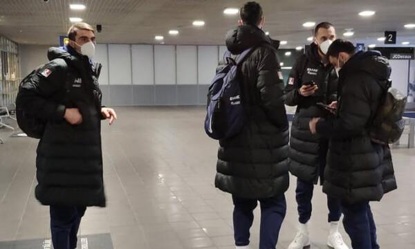 Εθνική ομάδα: Έφτασε στην Λετονία!
