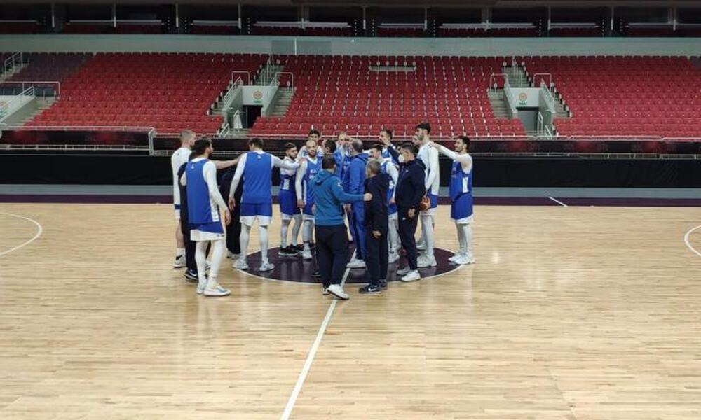 Εθνική ομάδα: Προπονήθηκε στην Ρίγα (vid)