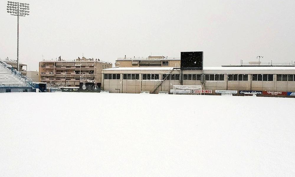 Κακοκαιρία «Μήδεια»: Στον… αέρα το Απόλλων Σμύρνης-Λαμία - Στα «λευκά» η Ριζούπολη (photos)