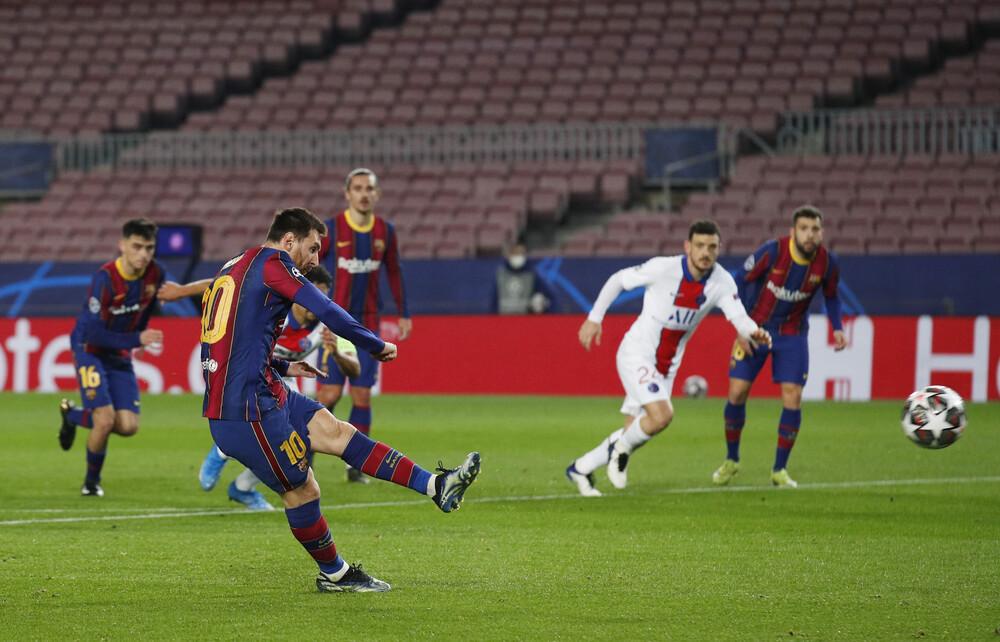 Champions League: Το πέναλτι που έβαλε «φωτιά» στο Μπαρτσελόνα-Παρί και τα γκολ Μέσι και Μπαπέ