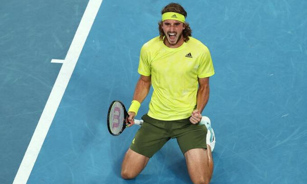 Australian Open: Μυθική πρόκριση Τσιτσιπά - Πέταξε εκτός τον Ναδάλ γυρίζοντας από το 2-0 (pics+vids)