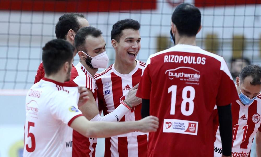 Volley League: Σε 66 λεπτά η νίκη του Ολυμπιακού με ΟΦΗ (photos)