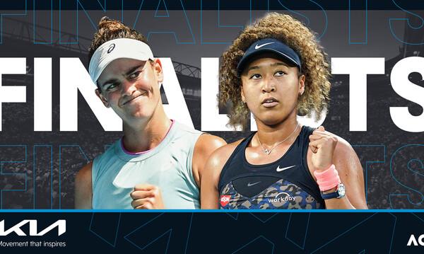 Australian Open: Οσάκα-Μπράντι στον τελικό γυναικών