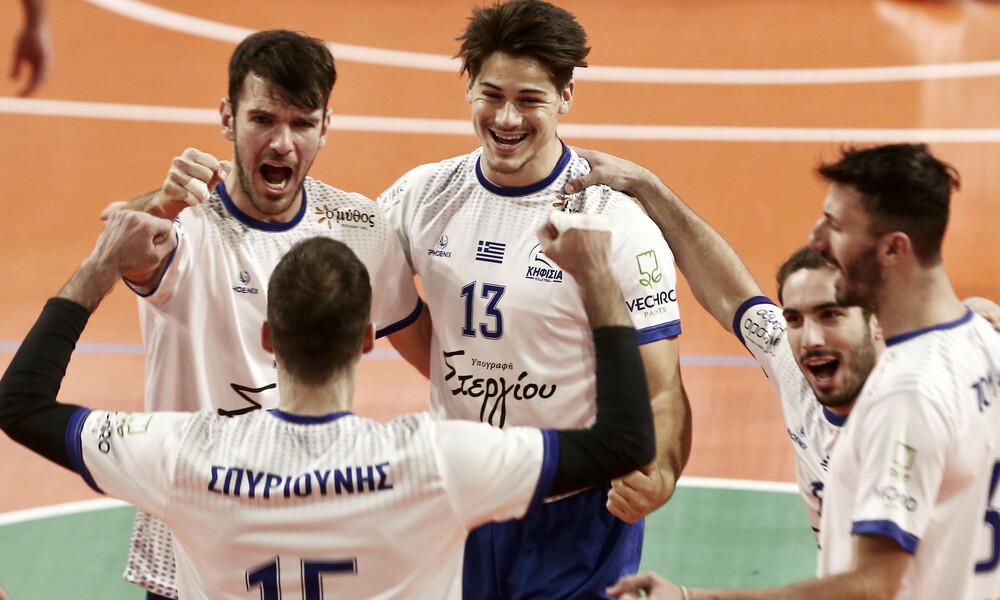 Volley League: Πήρε το ντέρμπι η Κηφισιά