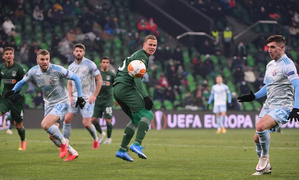 Europa League: Καλύτερη και νικήτρια η Ντινάμο στο Κράσνονταρ! (Videos)