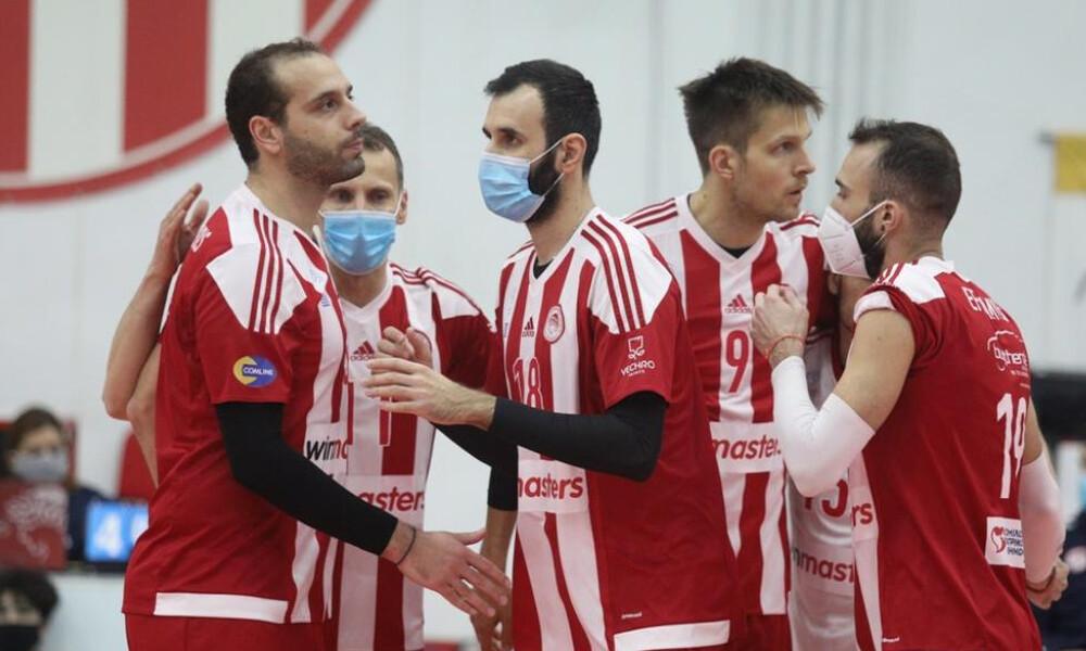«Βόμβα» κορονοϊού στην Volley League: Επτά κρούσματα στον Ολυμπιακό