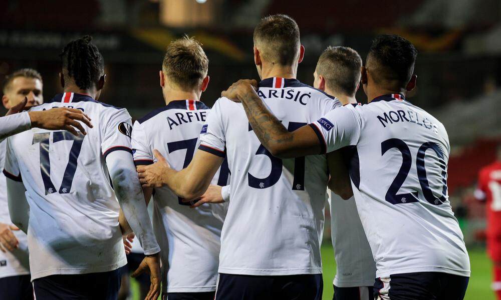Europa League: Επική ανατροπή για Ρέιντζερς, 4-3 την Αντβέρπ