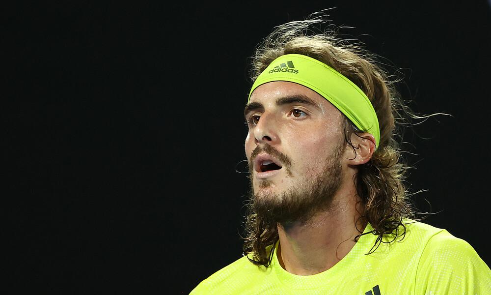 Australian Open: «Λύγισε» ο Στέφανος Τσιτσιπάς απέναντι στη... μηχανή-Μεντβέντεφ! (video+photos)