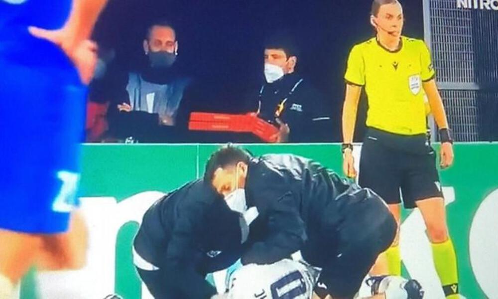 Αγώνας-απόλαυση: Έξι γκολ και... ντελιβεράς με πίτσες σε γήπεδο του Europa League (video)