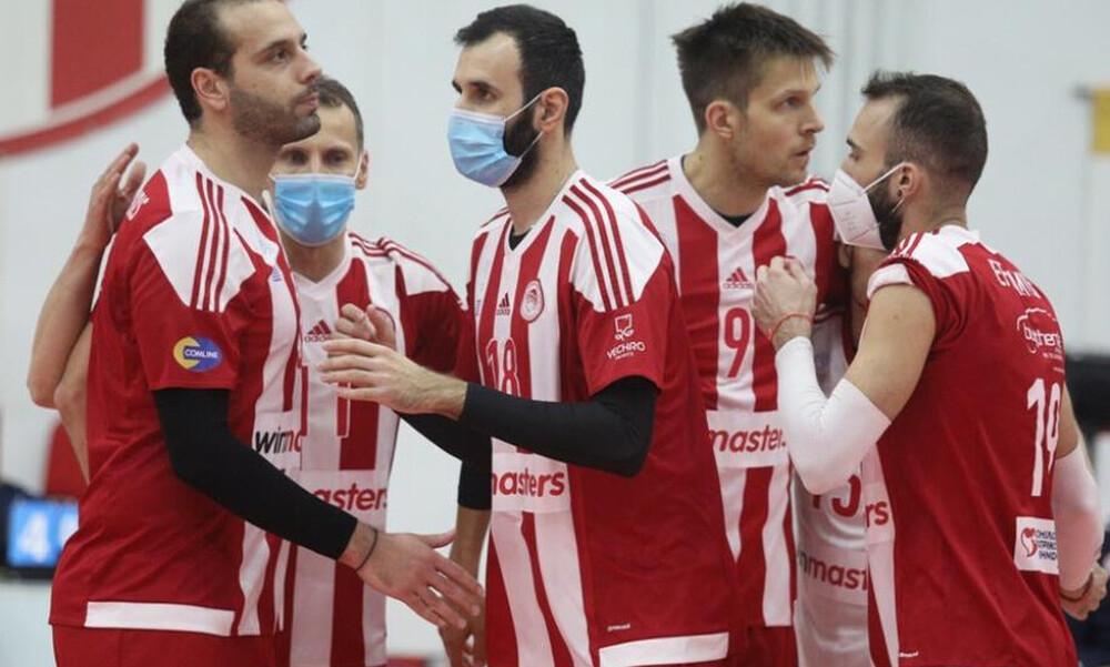 Volley League: Αναβλήθηκε και το Ολυμπιακός-ΠΑΟΚ