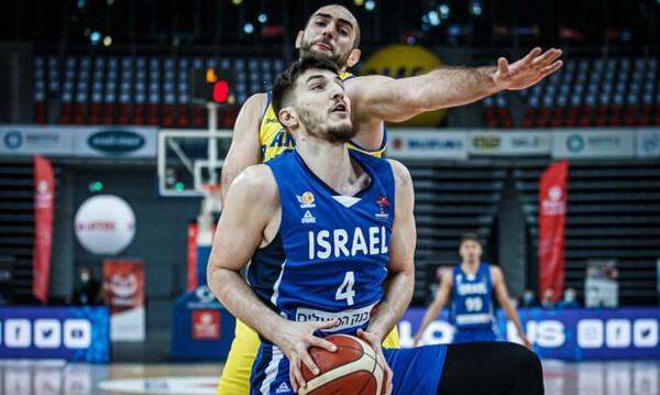 Ρουμανία - Ισραήλ 71-79: Προελαύνει αήττητο