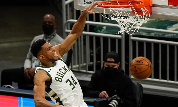 NBA: Τέλος στο αρνητικό σερί των Μπακς δια χειρός Γιάννη (video+photos)