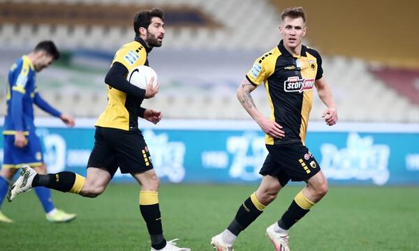 ΑΕΚ – Αστέρας Τρίπολης 2-2: «Έλαμψε» ο Σιμάνσκι, έσωσε τους «κιτρινόμαυρους»