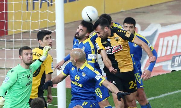 ΑΕΚ-Αστέρας Τρίπολης 2-2: Τα highlights του θρίλερ στο ΟΑΚΑ (video)