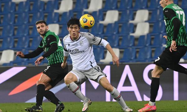 Serie A: Ούτε τώρα η Σασουόλο, κράτησε με δέκα η Μπολόνια!