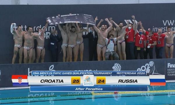 Πόλο: Πήρε το θρίλερ και προκρίθηκε στους Ολυμπιακούς Αγώνες η Κροατία