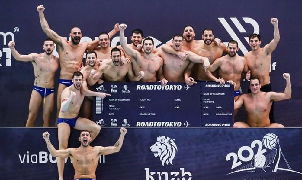 Τόκιο-Πόλο: Στα... θηρία η Εθνική Ελλάδας στους Ολυμπιακούς Αγώνες