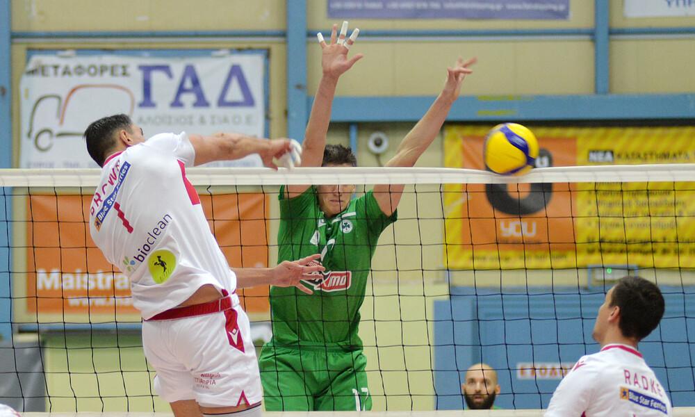 Volley League: Αναβλήθηκε το Παναθηναϊκός-Φοίνικας Σύρου!