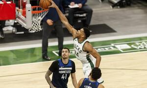NBA: Ασταμάτητος Γιάννης οδηγεί τους Μπακς (video+photos)