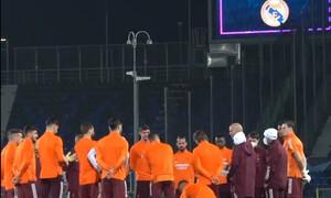 Champions League: Επική ομιλία Ζιντάν πριν το Αταλάντα-Ρεάλ Μαδρίτης (photos)