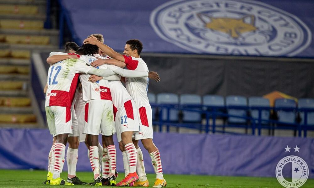 Λέστερ-Σλάβια Πράγας 0-2: Έκανε την έκπληξη και προκρίθηκε