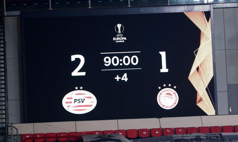Αϊντχόφεν-Ολυμπιακός 2-1: Έτσι ήρθε η πρόκριση (photos+video)