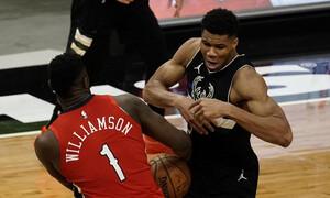 NBA: Φτιάχνουν σερί οι Μπακς με νέα ηγετική εμφάνιση Αντετοκούνμπο (video)