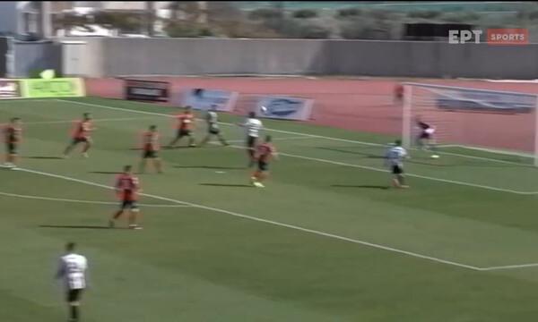 ΟΦ Ιεράπετρας-Τρίκαλα: Γκολ στην πρώτη φάση ο Γκίνη (video)